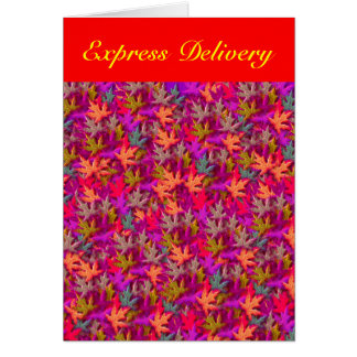 Express Delivery - Forgive Yourself Card