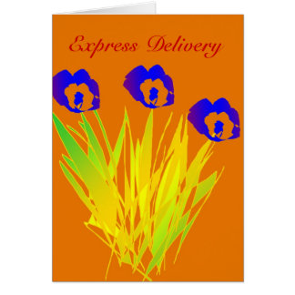 Express Delivery - Freshly Cut For You Card