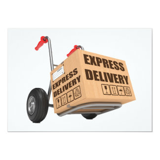 Express Delivery Invitations