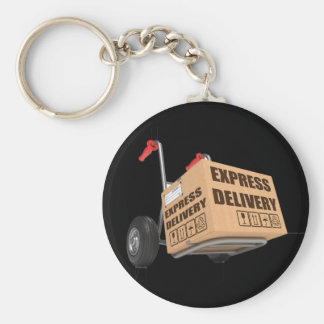 Express Delivery Keychain