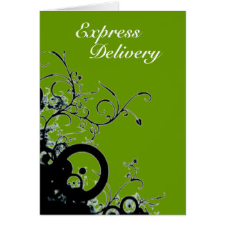 Express Delivery - Wishing You Sunshine Card