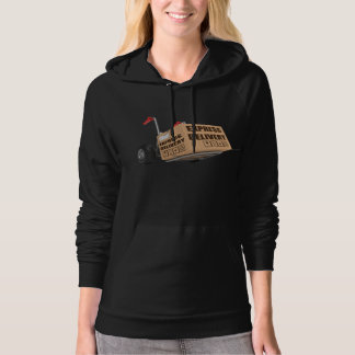 Express Delivery Womens Hoodie