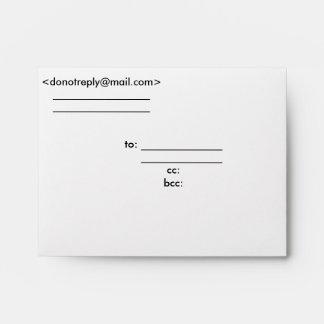 Express Letter/Envelope Envelope