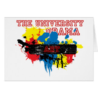 Express the Artist in you, University of Obama Card