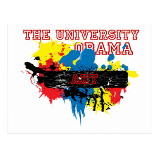 Express the Artist in you, University of Obama Postcard
