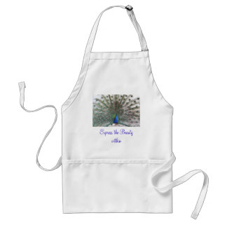 Express the Beauty apron