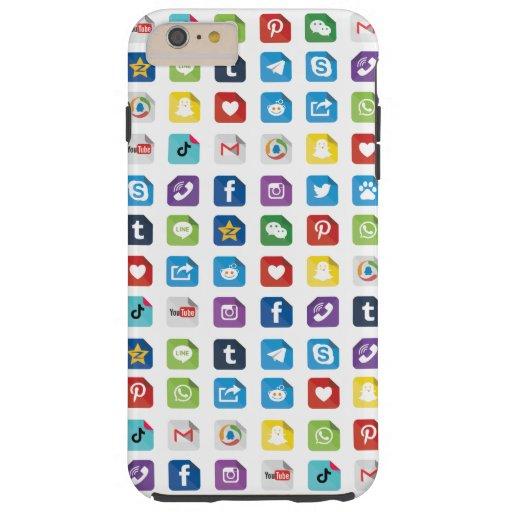Express your love through social media! tough iPhone 6 plus case