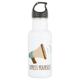 Express Yourself 18oz Water Bottle
