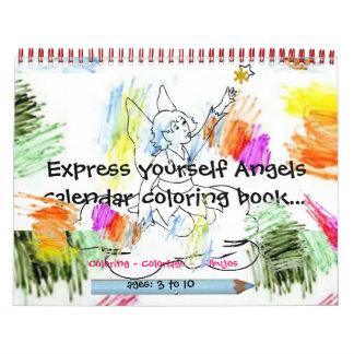 Express Yourself™2009 Angel Calendar.11x17.