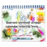 Express Yourself™ Angel Calendar Coloring Book
