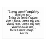 Express yourself completely... post cards