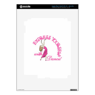 Express Yourself Decal For iPad 3