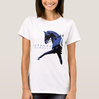 """Express Yourself"" Dressage Tee"