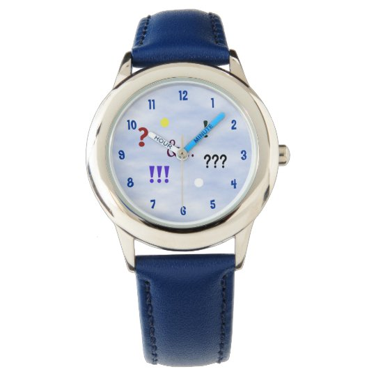 Express Yourself Kid's Adjustable Bezel Watch