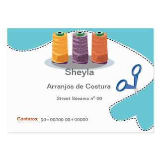 Express yourself large business card