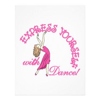 Express Yourself Letterhead