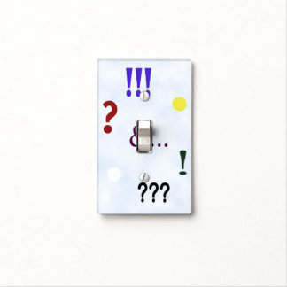 Express Yourself Single Light Switch