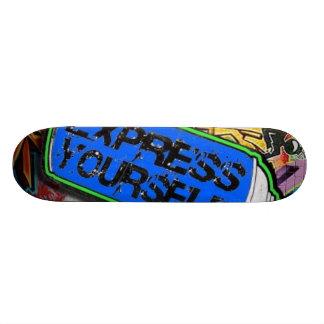 express yourself skate deck