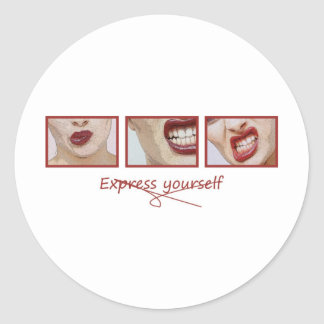 Express yourself stickers