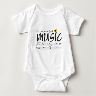 Express Yourself with Music Infant Baby Bodysuit