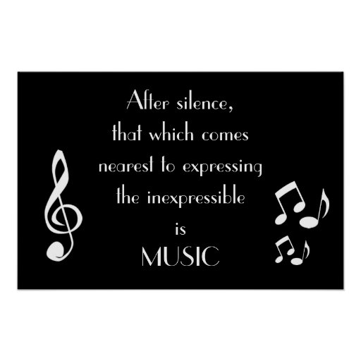 Expressing the Inexpressible Music Poster