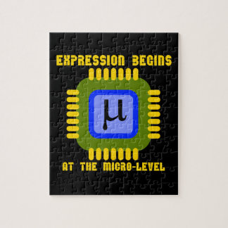 Expression Begins At The Micro Level Microprocess Jigsaw Puzzle