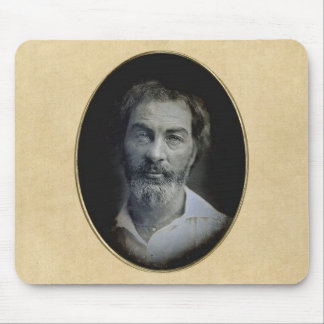 Expression in the Eyes of Walt Whitman Mouse Pad