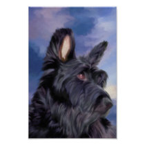 Expression Is Everything Scottish Terrier Dog Poster