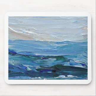 Expression of the Sea - Ocean Decor Mouse Pad