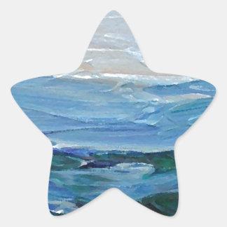 Expression of the Sea - Ocean Decor Star Sticker