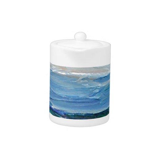 Expression of the Sea - Ocean Decor Teapot