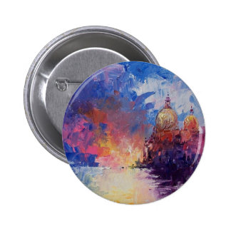 Expression of Venice Button Badge