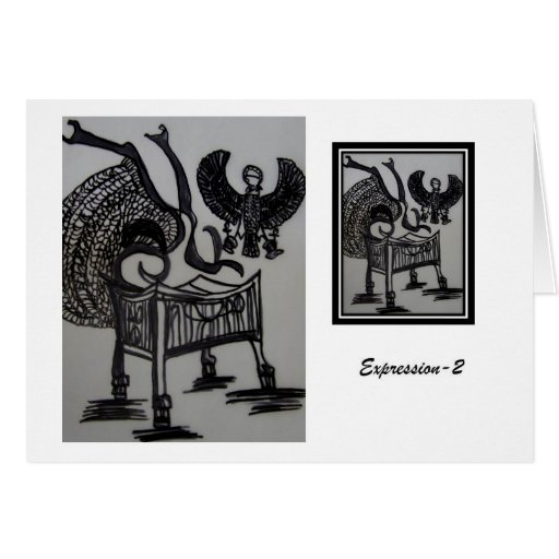 expression stationery note card