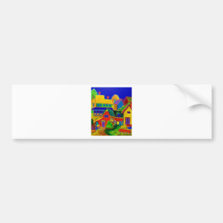 Expressionism Country 3 Bumper Stickers