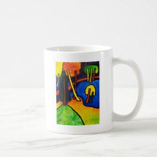 Expressionism Forest Coffee Mug
