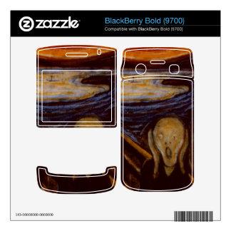 Expressionism The Scream Edvard Munch Fine Art Skin For BlackBerry