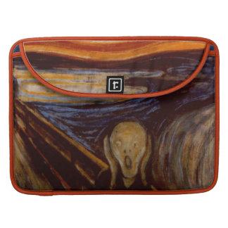 Expressionism The Scream Edvard Munch Fine Art Sleeve For MacBook Pro