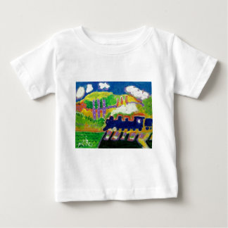 Expressionism train 4 baby T-Shirt