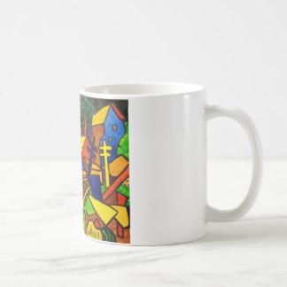 Expressionism Train 4 Coffee Mug