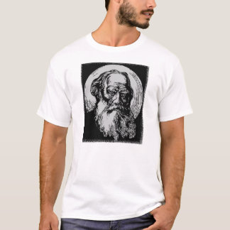Expressionist Vector Art Leo Tolstoy T-Shirt