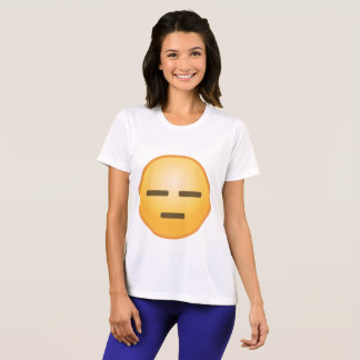 Expressionless Emoji T-Shirt