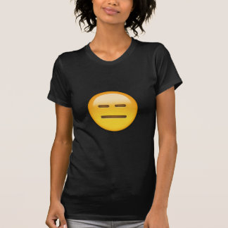 Expressionless Face Emoji T Shirt