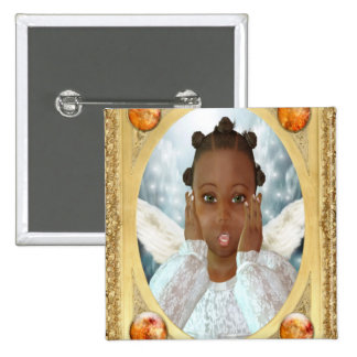 Expressions # 2 2 inch square button