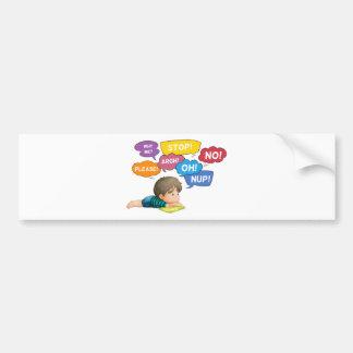 Expressions Car Bumper Sticker