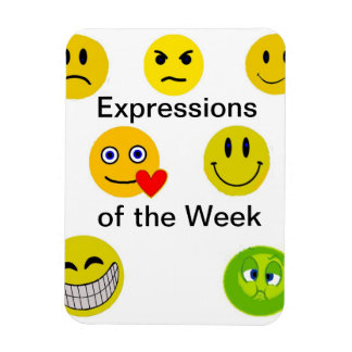 Expressions of the Week Magnet