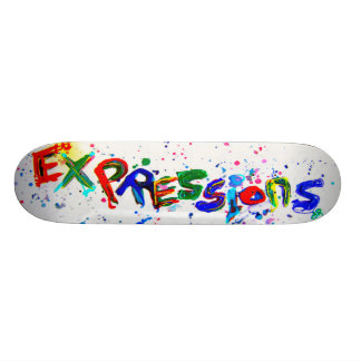 expressions skate board deck
