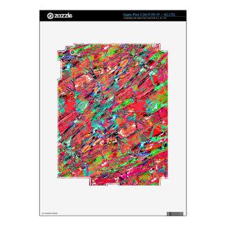 Expressive Abstract Grunge iPad 3 Skin