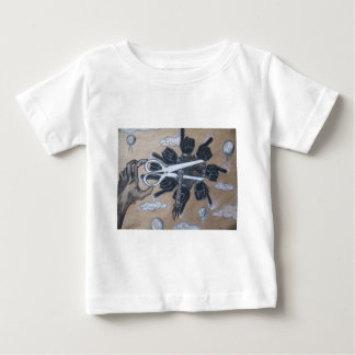 Expressive cutting out the crap baby T-Shirt