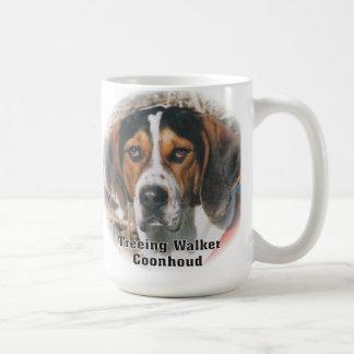 Expressive Treeing Walker Coonhound Mug
