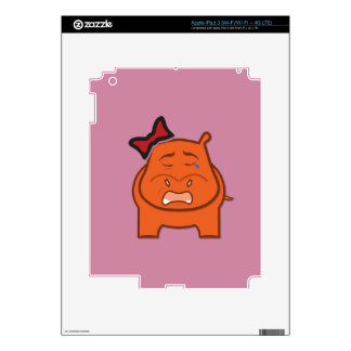 Expressively Playful Dianne Skin For iPad 3